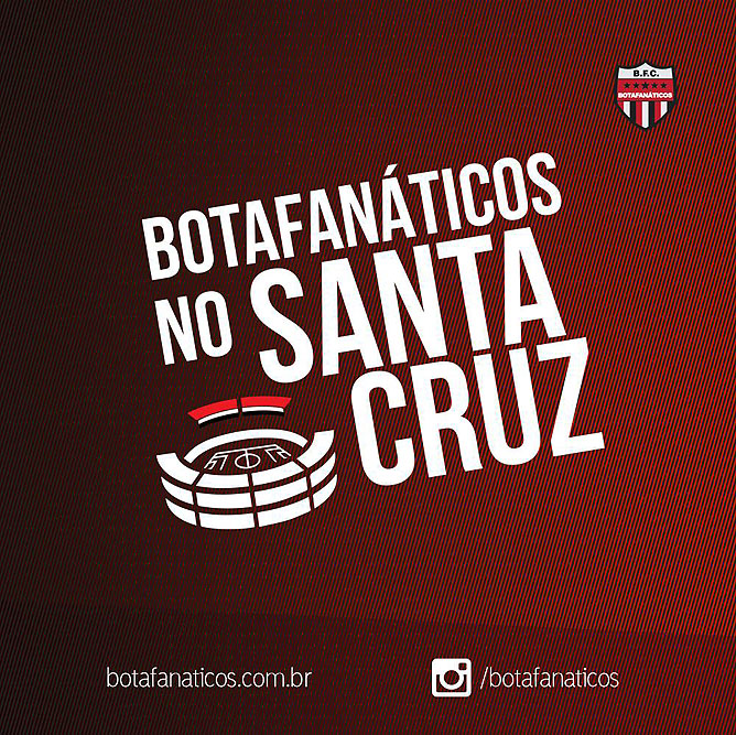Botafanáticos no Santa Cruz
