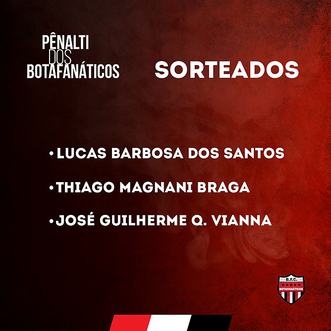 Penaltis do Botafanático